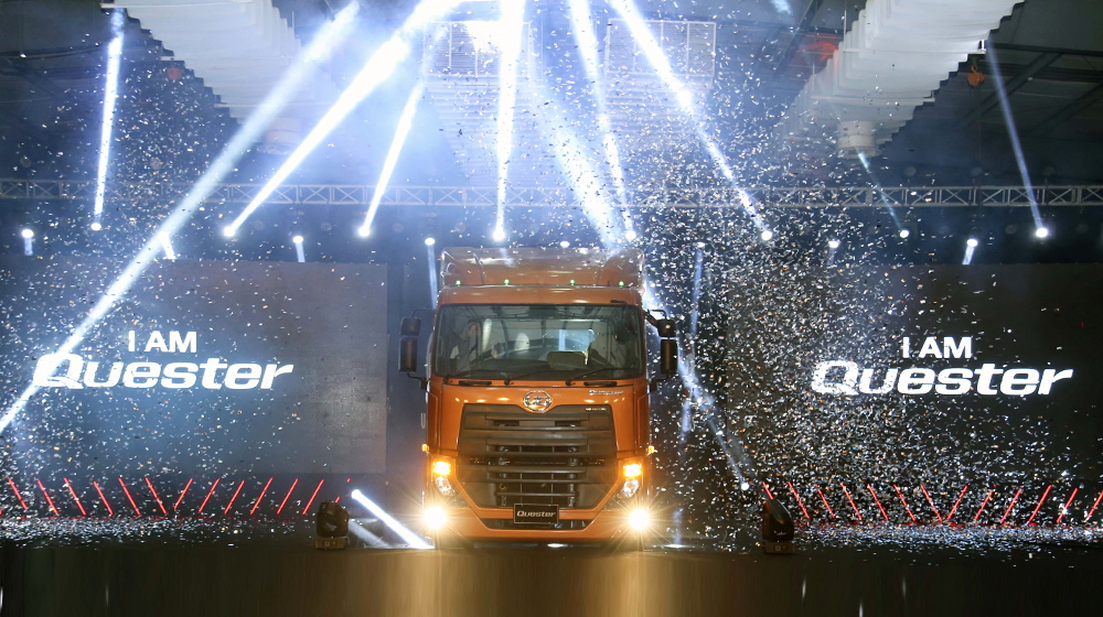 UD Launches Quester Heavy-Duty Truck Range in Pakistan 4