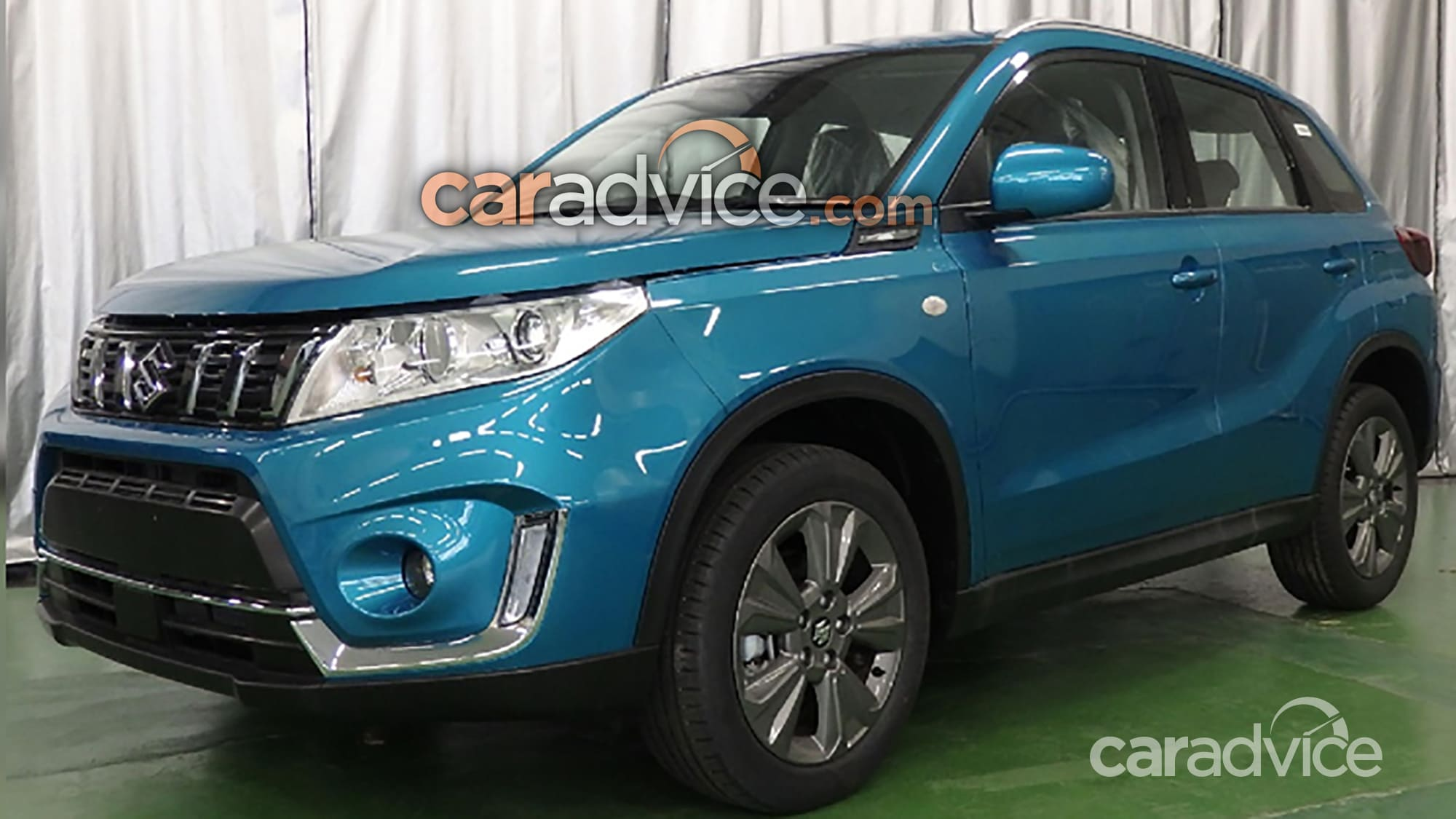 Suzuki Vitara Facelift Leaked 1