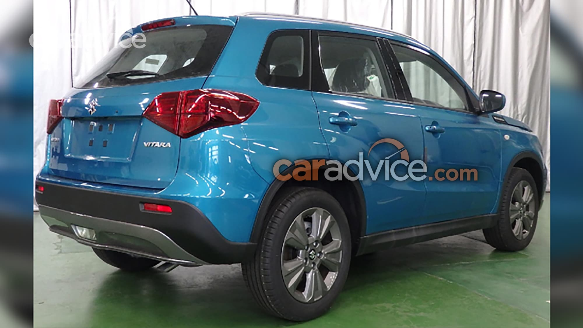 Suzuki Vitara Facelift Leaked 7