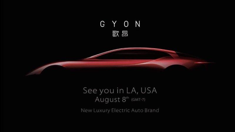 Chinese Luxury EV Startup Gyon Launching Next Month in USA 1