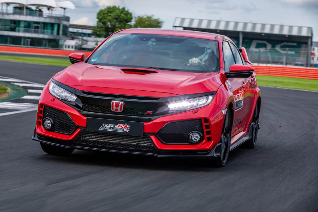 Honda Civic Type R Breaks Silverstone Lap Record 2