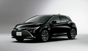 All New Toyota Corolla Sport Launched in Japan 10