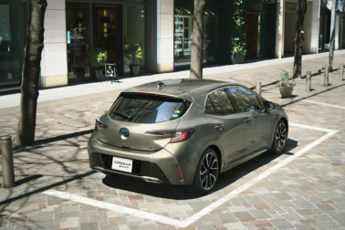 All New Toyota Corolla Sport Launched in Japan 14