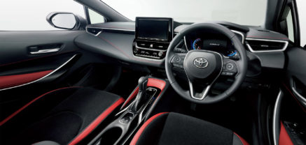 All New Toyota Corolla Sport Launched in Japan 16