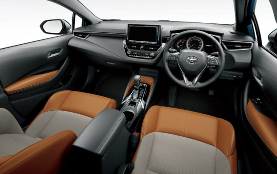 All New Toyota Corolla Sport Launched in Japan 19