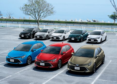 All New Toyota Corolla Sport Launched in Japan 12