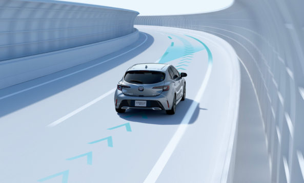 All New Toyota Corolla Sport Launched in Japan 2
