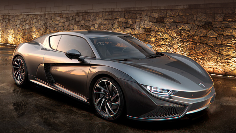 Qiantu K50 Electric Supercar from China to Launch in August 1
