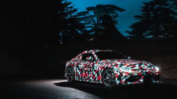 Rear End of All New Toyota Supra Leaked Online 4