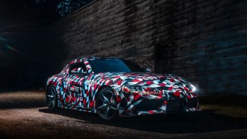 Rear End of All New Toyota Supra Leaked Online 6