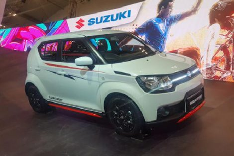 Suzuki Ignis Rally Concept and Sport Concept at GIIAS 2018 8