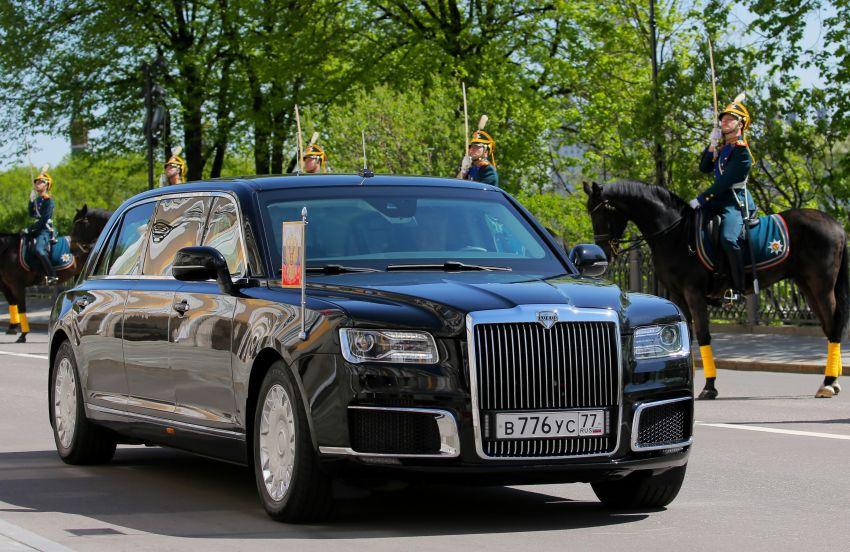Aurus Senat: Vladimir Putin's New Presidential Limousine 2