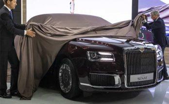 Aurus Senat: Vladimir Putin's New Presidential Limousine 11