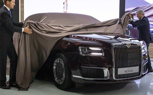 Aurus Senat: Vladimir Putin's New Presidential Limousine 1