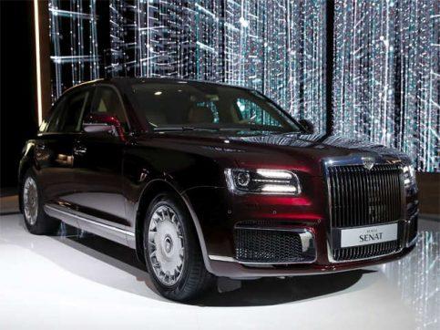 Aurus Senat: Vladimir Putin's New Presidential Limousine 6