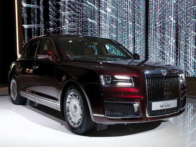 Aurus Senat: Vladimir Putin's New Presidential Limousine 13
