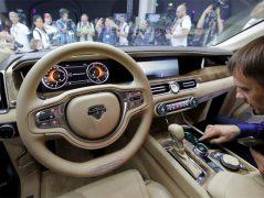 Aurus Senat: Vladimir Putin's New Presidential Limousine 10