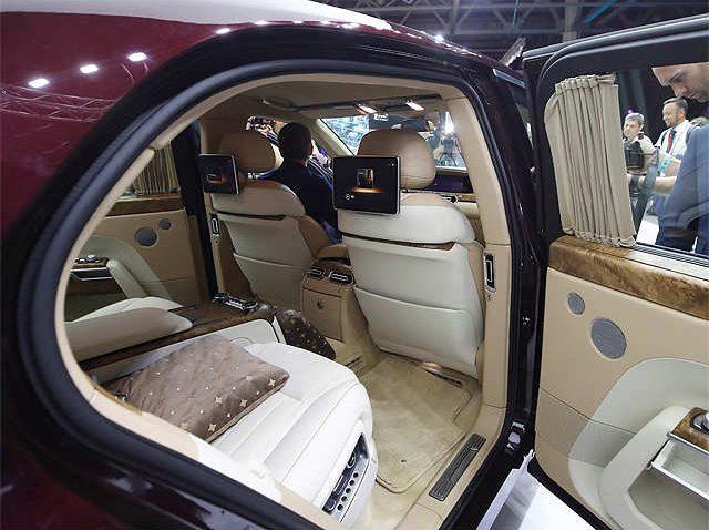 Aurus Senat: Vladimir Putin's New Presidential Limousine 18