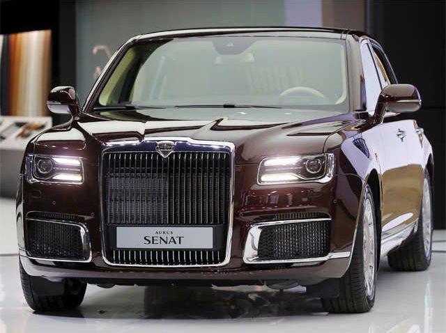 Aurus Senat: Vladimir Putin's New Presidential Limousine 16