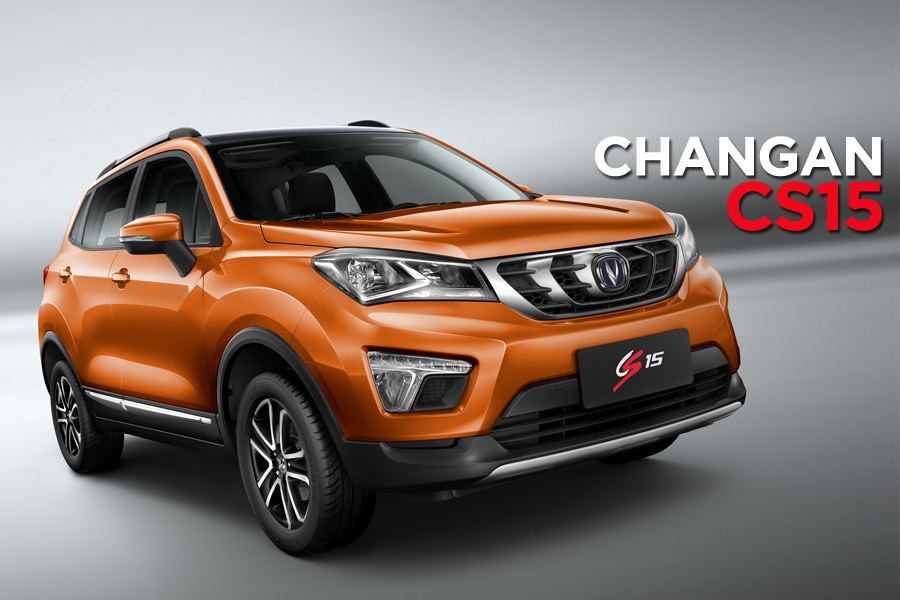 The Changan CS15 Crossover 3