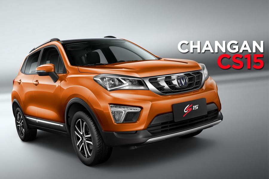 The Changan CS15 Crossover 1