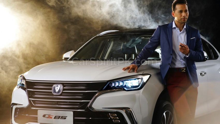 First Official Photos: Changan CS85 Coupe SUV 4
