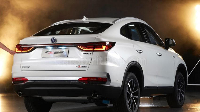 First Official Photos: Changan CS85 Coupe SUV 5