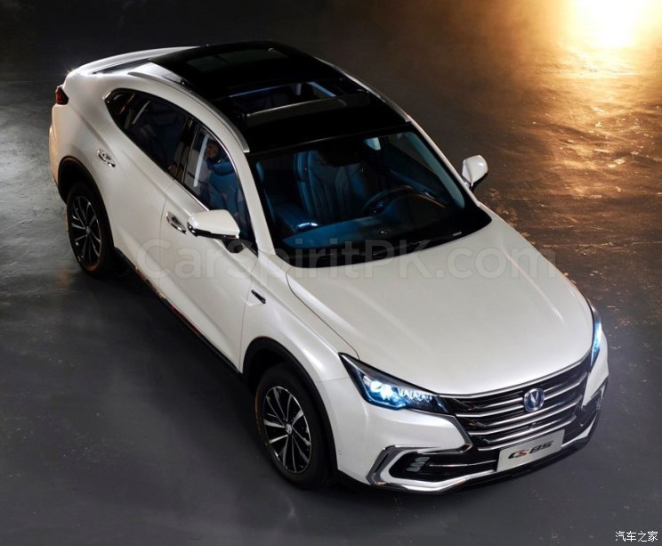 First Official Photos: Changan CS85 Coupe SUV 8