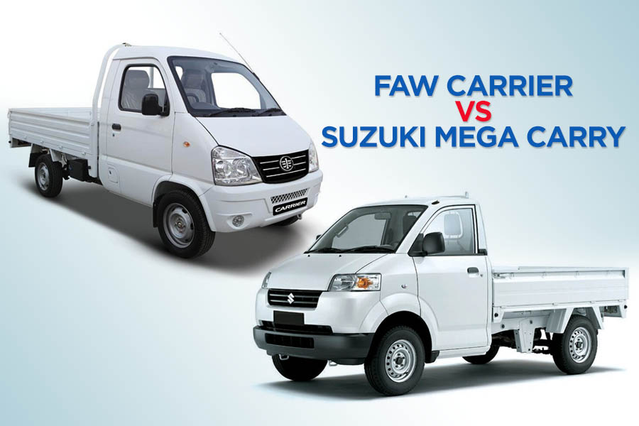 FAW Carrier vs Suzuki Mega Carry 1