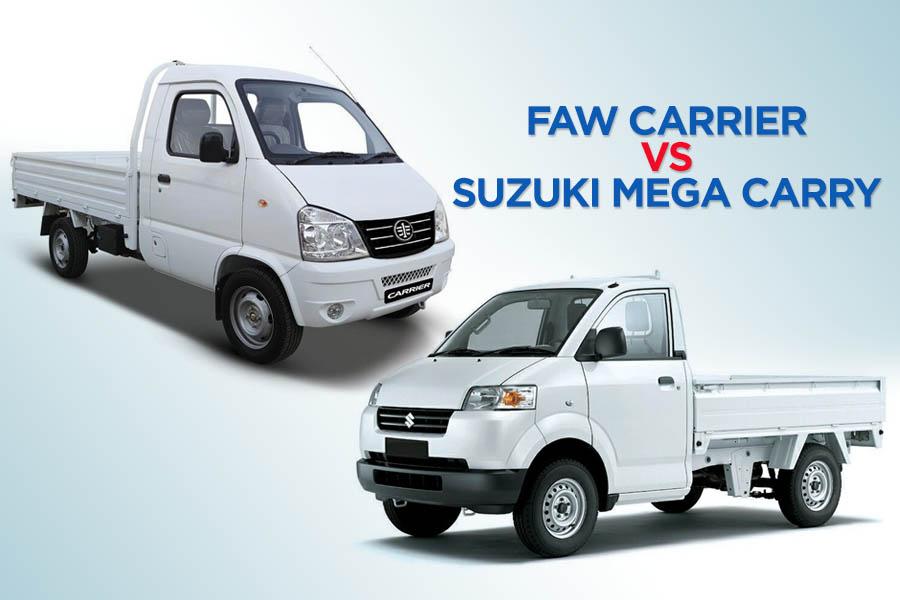 FAW Carrier vs Suzuki Mega Carry 1