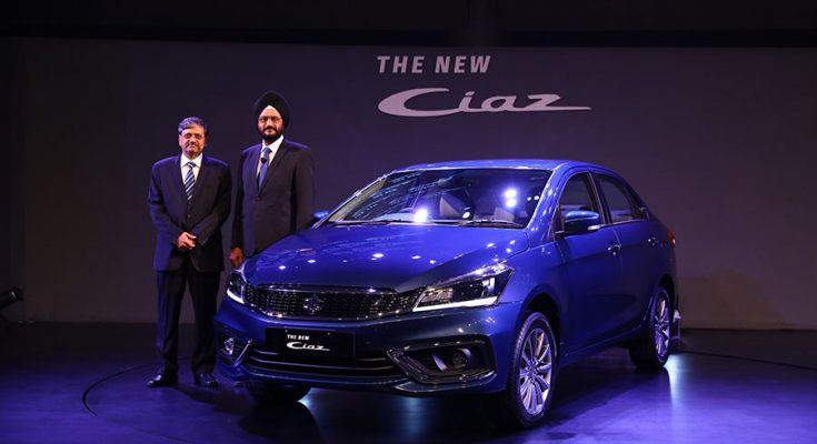 2018 Suzuki Ciaz Facelift Launched in India at INR 8.19 lac 1