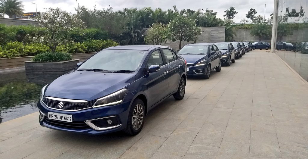 2018 Suzuki Ciaz Facelift Launched in India at INR 8.19 lac 15