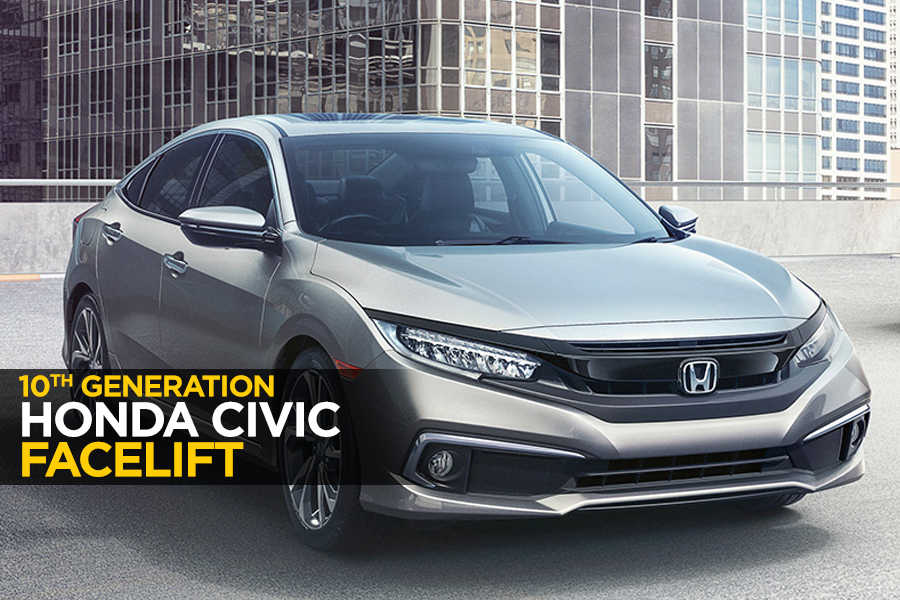 10th Gen Honda Civic Receives a Facelift 2