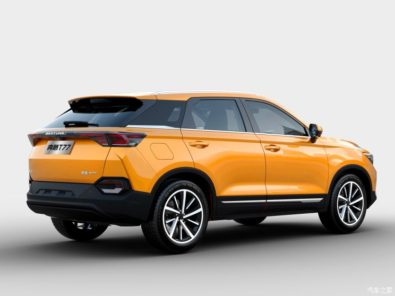 FAW Releases Official Photos of the T77 SUV 8