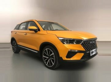 FAW Releases Official Photos of the T77 SUV 13