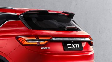 First Official Photos: Geely SX11 14