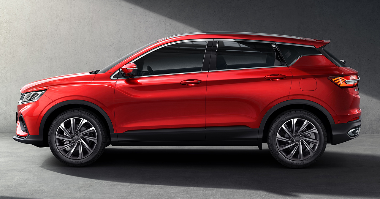 First Official Photos: Geely SX11 4