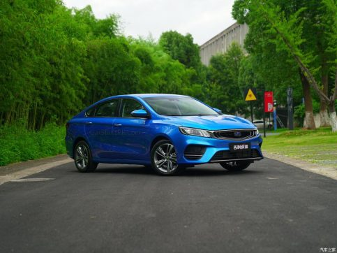 Next Gen Proton Preve to be Based on Geely BinRui 18