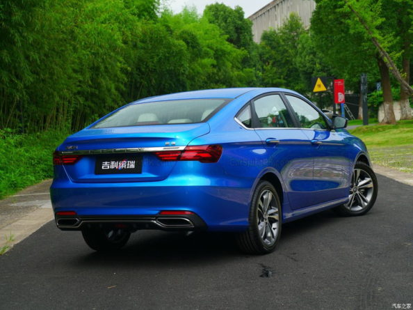 Next Gen Proton Preve to be Based on Geely BinRui 17