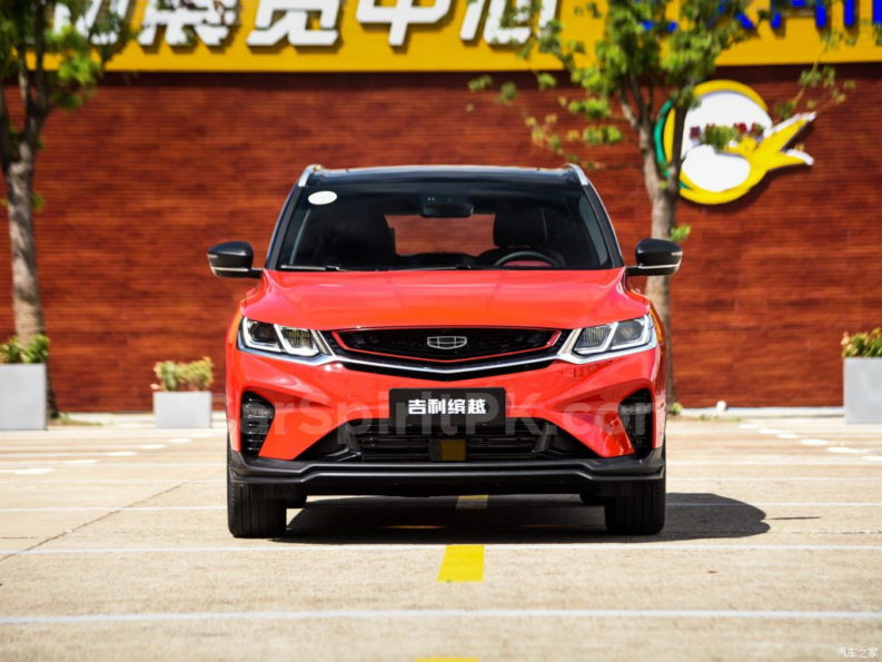 Geely SX11 BinYue Revealed to Media Ahead of Launch 14