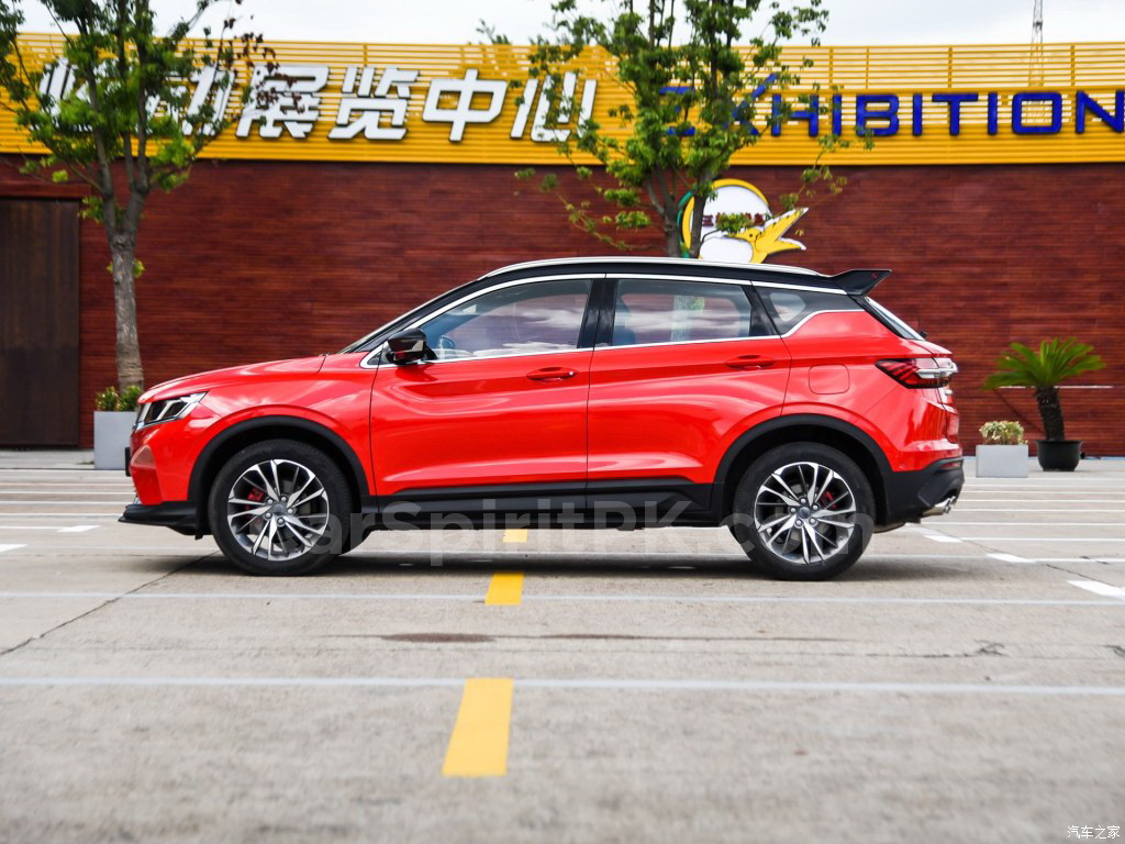 Geely SX11 BinYue Revealed to Media Ahead of Launch 11