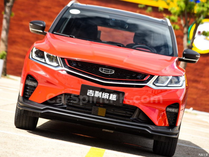 Geely SX11 BinYue Revealed to Media Ahead of Launch 58
