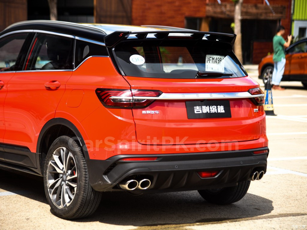 Geely SX11 BinYue Revealed to Media Ahead of Launch 13