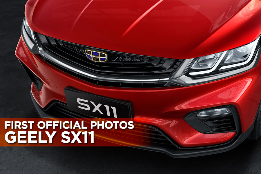 First Official Photos: Geely SX11 1