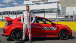 Honda Civic Type R Sets Hungaroring FWD Record 3