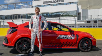 Honda Civic Type R Sets Hungaroring FWD Record 1