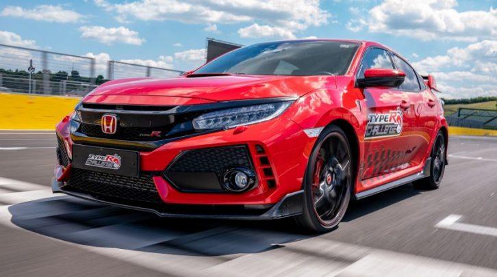 Honda Civic Type R Sets Hungaroring FWD Record 6