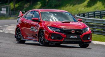 Honda Civic Type R Sets Hungaroring FWD Record 5