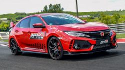 Honda Civic Type R Sets Hungaroring FWD Record 5