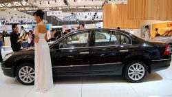 Geely SX11 Crossover Named as BinYue in China 10